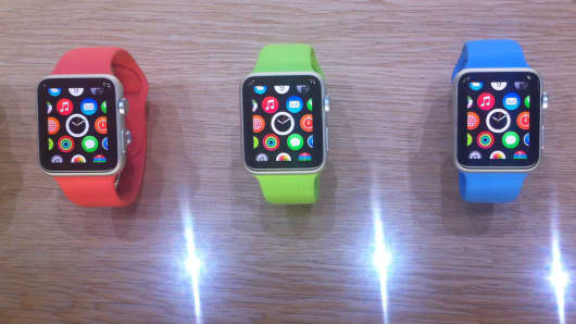 Apple Watch Sport.